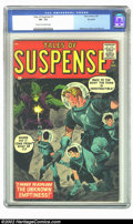Silver Age (1956-1969):Science Fiction, Tales of Suspense #1 Big Apple pedigree (Marvel, 1959) CGC VF- 7.5 Cream to off-white pages. This is a very respectable copy...