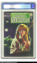 Bronze Age (1970-1979):Horror, House of Secrets #92 (DC, 1971) CGC NM- 9.2 Cream to off-whitepages. The first appearance of Swamp Thing by Bernie Wrightso...
