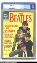 Silver Age (1956-1969):Humor, Beatles #1 (Dell, 1964) CGC VF/NM 9.0 Cream to off-white pages. This is a stunning copy of this squarebound giant comic from...