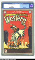Golden Age (1938-1955):Western, All-American Western #117 Mile High pedigree (DC, 1951) CGC NM 9.4White pages. What a smoking copy! The fiery orange-red co...