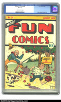 Golden Age (1938-1955):Adventure, More Fun Comics #34 (DC, 1938) CGC FN+ 6.5 Cream to off-white pages. A rare book in any condition, this copy is well above a...