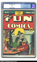 Golden Age (1938-1955):Superhero, More Fun Comics #53 (DC, 1940) CGC VF 8.0 Off-white pages. The Spectre appears out of nowhere, catching the gunman by surpri...