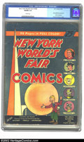 Golden Age (1938-1955):Superhero, New York World's Fair Comics #nn (1939 Edition) (DC, 1939) CGC VG/FN 5.0 Cream pages. A blond Superman graces the cover of t...