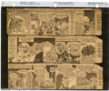 Batman and Robin Newspaper Comic Strip Group Lot of First 66 Strips (DC, 1943). These are the first 66 strips of the &qu...