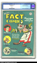 Golden Age (1938-1955):Non-Fiction, Real Fact Comics #2 Mile High pedigree (DC, 1946) CGC NM- 9.2 Whitepages. The Mile High collection is generally acknowledge...