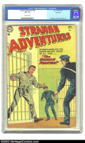 Golden Age (1938-1955):Science Fiction, Strange Adventures #48 Bethlehem pedigree (DC, 1954) CGC VF- 7.5Off-white pages. This copy of the Anderson, Infantino, and ...