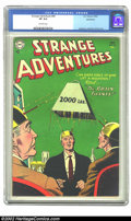 Golden Age (1938-1955):Science Fiction, Strange Adventures #49 Bethlehem pedigree (DC, 1954) CGC VF 8.0Off-white pages. Like other issues of the title offered from...