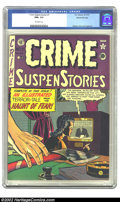 Golden Age (1938-1955):Crime, Crime SuspenStories #7 Gaines File pedigree Certificate Missing (EC, 1951) CGC NM+ 9.6 Off-white pages. Johnny Craig was a m...