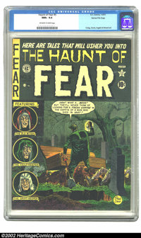 The Haunt of Fear #5 Gaines File pedigree 1/9 (EC, 1951) CGC NM+ 9.6 Off-white to white pages. This unreal copy is the h...