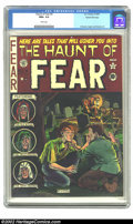 Golden Age (1938-1955):Horror, The Haunt of Fear #9 Gaines File pedigree 1/12 (EC, 1951) CGC NM+9.6 White pages. This sensational copy just dares you to f...