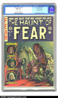 Golden Age (1938-1955):Horror, The Haunt of Fear #14 Gaines File pedigree 7/12 (EC, 1952) CGC NM+9.6 Off-white to white pages. Graham Ingels created one o...