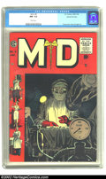 Golden Age (1938-1955):Miscellaneous, M.D. #5 Gaines File pedigree 12/12 (EC, 1955) CGC NM- 9.2 White pages. Another incredibly powerful cover by Johnny Craig fro...