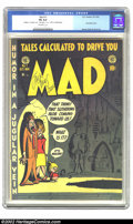Golden Age (1938-1955):Humor, Mad #1 (EC, 1952) CGC FN 6.0 Off-white pages. This first satire comic is the key book in the satirical humor genre of co...