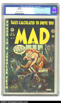 Golden Age (1938-1955):Humor, Mad #5 (EC, 1953) CGC VF 8.0 Cream to off-white pages. This is one of those covers that you can really spend some time gazin...