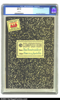 Mad #20 (EC, 1955) CGC NM 9.4 White pages. A comic designed to be snuck into class! From an original-owner collection, t...