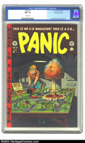 Golden Age (1938-1955):Humor, Panic #2 Gaines File pedigree 10/12 (EC, 1954) CGC NM- 9.2 White pages. This classic early Mad parody features an atomic...