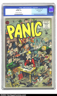 Panic #12 Gaines File pedigree 10/12 (EC, 1956) CGC VF/NM 9.0 Off-white to white pages. Finding this issue in any condit...
