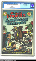 Golden Age (1938-1955):Non-Fiction, Picture Stories From American History #2 Gaines File pedigree 8/11(EC, 1946) CGC NM+ 9.6 Off-white pages. The British are c...