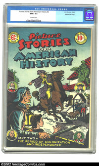Picture Stories From American History #2 Gaines File pedigree 8/11 (EC, 1946) CGC NM+ 9.6 Off-white pages. The British a...