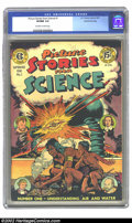 Golden Age (1938-1955):Non-Fiction, Picture Stories from Science #1 Gaines File pedigree 4/11 (EC,1947) CGC VF/NM 9.0 Off-white to white pages. Before EC meant...
