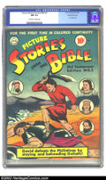 Golden Age (1938-1955):Religious, Picture Stories from the Bible #2 (Old Testament) Gaines Filepedigree 4/12 (DC, 1942) CGC NM 9.4 Off-white to white pages. ...