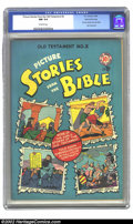 Golden Age (1938-1955):Religious, Picture Stories from the Bible #2 (Old Testament) Gaines Filepedigree 4/12 (EC, 1946) CGC NM 9.4 Off-white pages. A beautif...