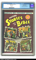 Golden Age (1938-1955):Religious, Picture Stories from the Bible (Complete New Testament) Gaines Filepedigree 4/12 (EC, 1946) CGC NM+ 9.6 Off-white pages. Th...