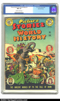 Golden Age (1938-1955):Non-Fiction, Picture Stories from World History #1 Gaines File pedigree 4/11 (Eastern Color, 1947) CGC NM- 9.2 Off-white to white pages. ...