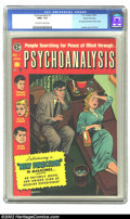 Golden Age (1938-1955):Horror, Psychoanalysis #1 Gaines File pedigree 1/12 (EC, 1955) CGC NM+ 9.6 Off-white to white pages. This Gaines file copy was deeme...