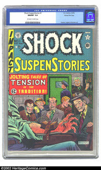 Shock SuspenStories #1 Gaines File pedigree 8/12 (EC, 1952) CGC NM/MT 9.8 Off-white to white pages. Al Feldstein's elect...