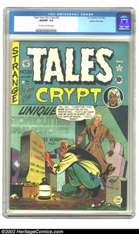 Tales From the Crypt #20 (#1) Gaines File pedigree 1/11 (EC, 1950) CGC 9.8 NM/MT Off-white to white pages. Perfect. Perf...