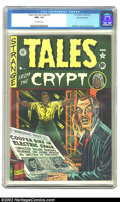 Golden Age (1938-1955):Horror, Tales From the Crypt #21 Gaines File pedigree 1/10 (EC, 1951) CGCNM+ 9.6 Off-white pages. The second issue of this famous t...