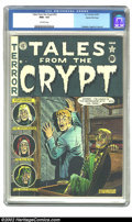 Golden Age (1938-1955):Horror, Tales From the Crypt #23 Gaines File pedigree 1/10 (EC, 1951) CGC9.6 NM+ Off-white pages. This a beautiful and near-immacul...