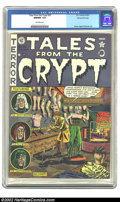 Golden Age (1938-1955):Horror, Tales From the Crypt #25 Gaines File pedigree 1/12 (EC, 1951) CGCNM/MT 9.8 Off-White Pages. According to Bob Overstreet thi...