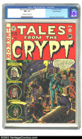 Golden Age (1938-1955):Horror, Tales From the Crypt #26 Gaines File pedigree 1/12 (EC, 1951) CGCNM+ 9.6 Off-white to white pages. Wally Wood's second-ever...