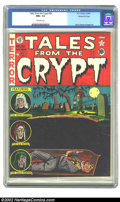 Golden Age (1938-1955):Horror, Tales From the Crypt #28 Gaines File pedigree 1/12 (EC, 1952) CGCNM+ 9.6 Off-white pages. The blood-red inks just drip off ...
