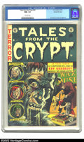 Golden Age (1938-1955):Horror, Tales From the Crypt #34 Gaines File pedigree 1/12 (EC, 1953) CGCNM+ 9.6 Off-white pages. The very best set from this famou...