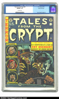 Golden Age (1938-1955):Horror, Tales From the Crypt #36 Gaines File pedigree 1/10 (EC, 1953) CGCNM/MT 9.8 Off-white pages. William Gaines only kept ten co...