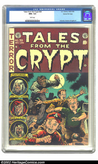 Tales From the Crypt #39 Gaines File pedigree 1/11 (EC, 1953) CGC NM+ 9.6 White pages. Offered here is the number one co...