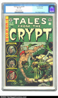 Golden Age (1938-1955):Horror, Tales From the Crypt #40 Gaines File pedigree 9/12 (EC, 1954) CGCVF+ 8.5 Off-white to white pages. Except for the first nin...