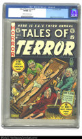 Golden Age (1938-1955):Horror, Tales of Terror Annual #3 (EC, 1953) CGC VF/NM 9.0 Cream to off-white pages. Al Feldstein digs deep and comes up with one of...