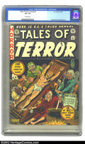 "Golden Age (1938-1955):Horror, Tales of Terror Annual #3 (EC, 1953) CGC VF+ 8.5 Off-white pages.Gerber lists this as a ""less than average"" copy scarcity-w..."