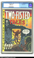 Golden Age (1938-1955):War, Two-Fisted Tales #22 Gaines File pedigree 7/10 (EC, 1951) CGC NM/MT 9.8 Off-white to white pages. If we thought we had seen ...