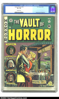 Vault of Horror #18 (EC, 1951) CGC VF+ 8.5 Off-white pages. It looks like his wish didn't come true, but yours can if yo...