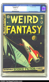Weird Fantasy #9 (EC, 1951) CGC VF/NM 9.0 Off-white pages. EC did science fiction with a class and a style as no other p...