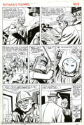 """Original Comic Art:Panel Pages, Dick Ayers - Original Art for Tales to Astonish #53, pages 4 and 5 (Marvel, 1964). This two-page lot is from the """"Trapped by..."""