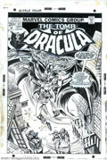 Original Comic Art:Covers, Frank Brunner and Tom Palmer - Original Cover Art for Tomb of Dracula #12 (Marvel, 1973). This cover image by Frank Brunner ...