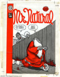 Original Comic Art:Covers, Robert Crumb - Original Cover Art for Mr. Natural #2 (San FranciscoComic Book Company, 1971) From the mind of Robert Crumb ...