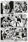 Original Comic Art:Panel Pages, Steve Ditko - Original Art for Ghostly Haunts #46, page 5(Charlton, 1975). Steve Ditko lends a deft hand to this horrificp...