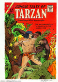 Original Comic Art:Paintings, Sam Glanzman - Original Cover Recreation for Jungle Tales of Tarzan #2 (2000). This is a nice, bright watercolor by Sam Glan...